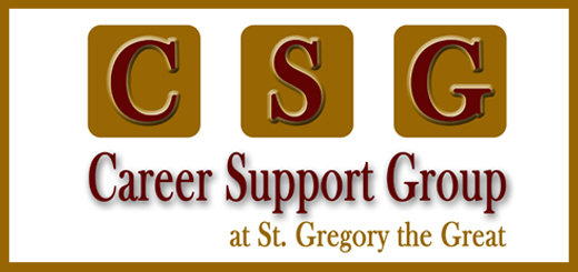 Career Support Group at St. Gregory the Great Professional Job S