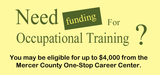 You May be Eligible for 4000 One Stop Career Center Mercer County CSGSGG Career Support Group St Gregory the Great copy