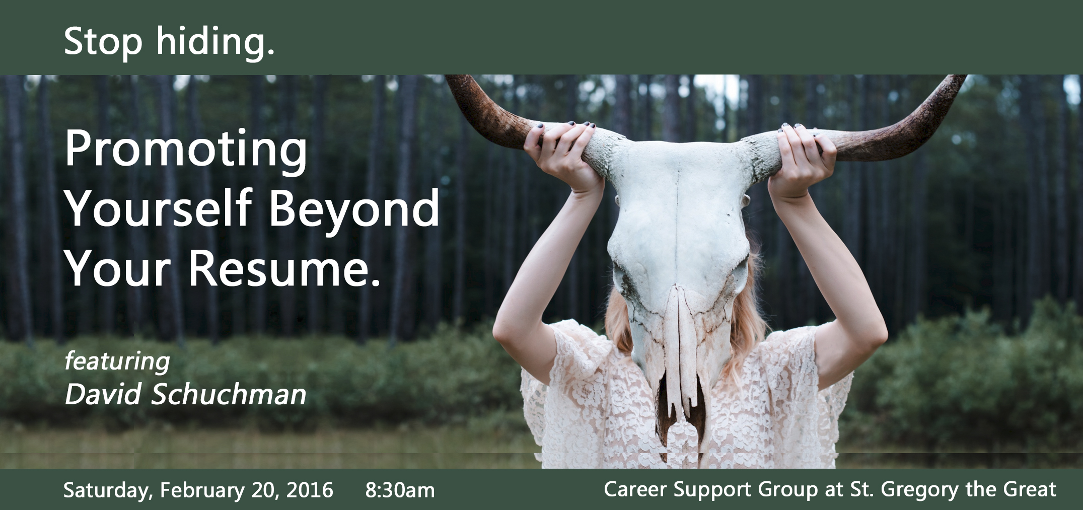 promoting yourself beyond your resume