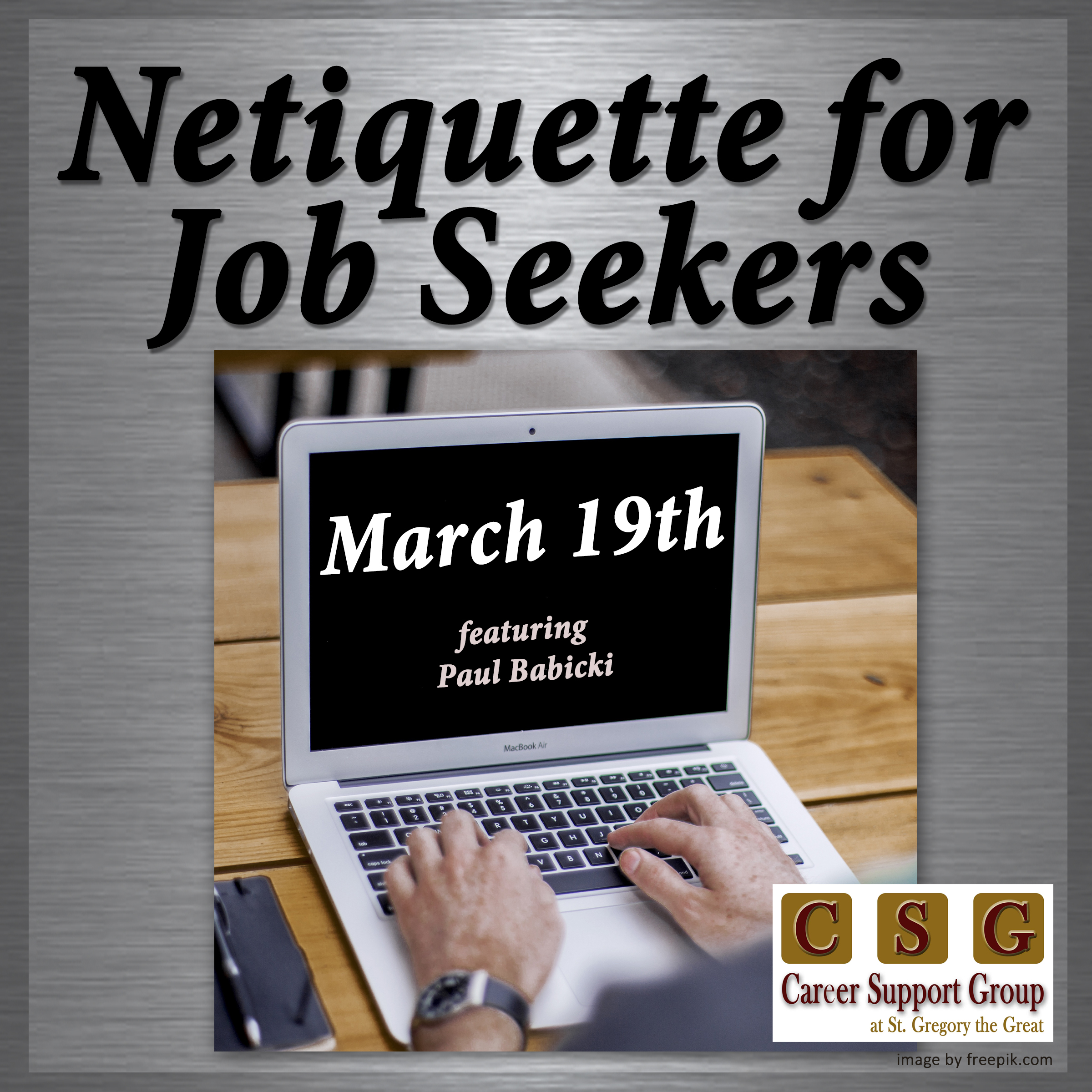 Free Resources For Job Seekers: Career Support Group At St
