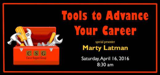 Tools To Advance Your Career (CSGSGG) Marty Latman 830