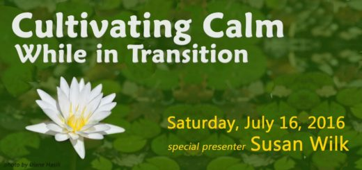 cultivating calm featuring susan wilk