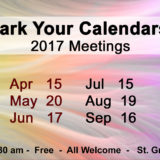 2017 Monthly Meetings