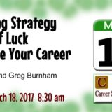 Career Support Group March 18 2017