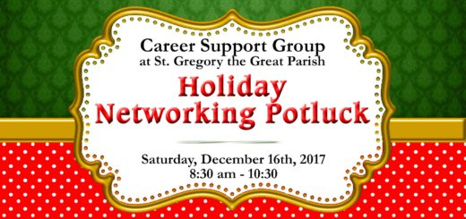 Career Support Group at St. Gregory the Great