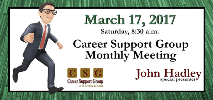 Career Support Group at St. Gregory the Great Church