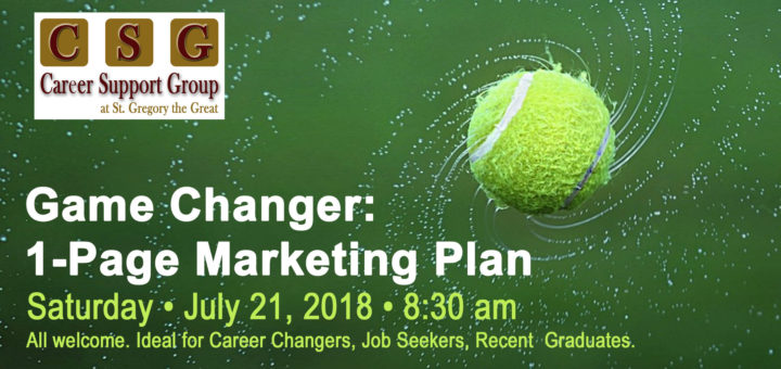 Game Changer: The Marketing Plan